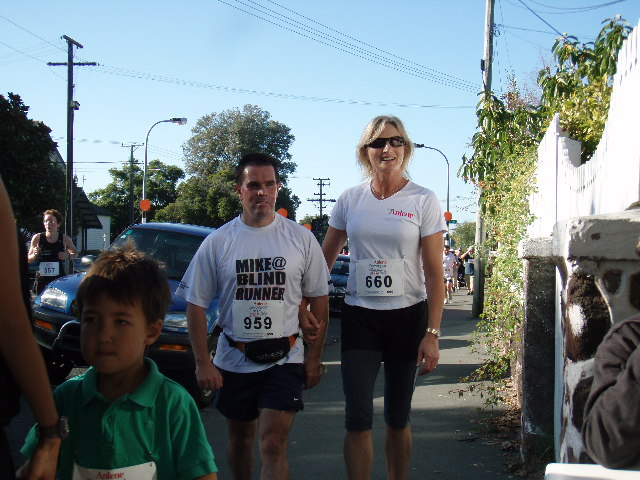 Mike and Allison during Devonport Classic March 2009 photo